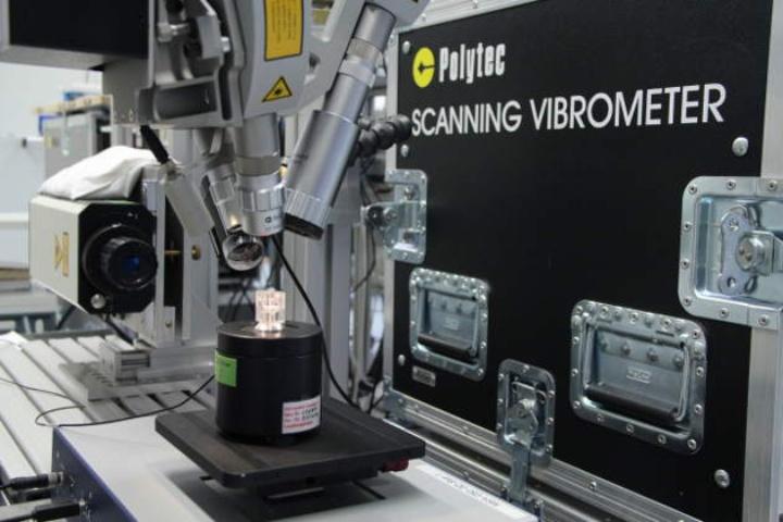 Vermessung von Knöchelchenbewegungen mit Laser-Doppler-Vibrometrie