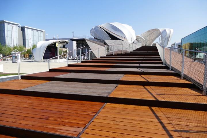 Der Deutsche Pavillon auf der EXPO 2015 in Mailand