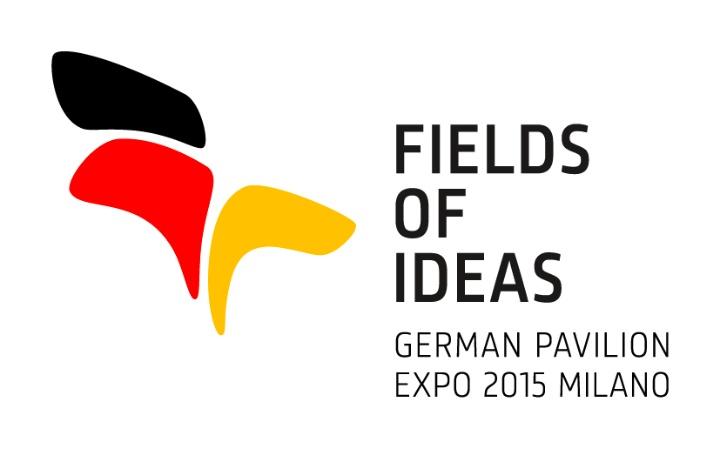 Logo des Deutschen Pavillons der Expo 2015