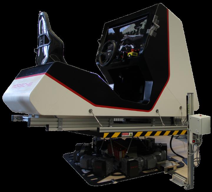 Instituts-Fahrsimulator mit aktiver Bewegungsplattform