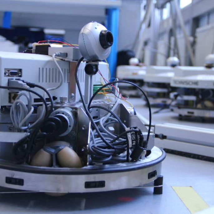 Verteilte modellprädiktive Regelung von mobilen Robotern