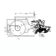 Asterix zieht einen Wagen, dessen Maße beschriftet sind, so dass das Bild in einer Übungsaufgabe verwendet werden kann